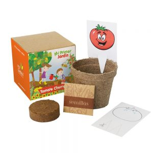 Kit Mi Primer Jardín Tomatitos Cherry